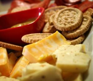 Meriendas con queso Stikets