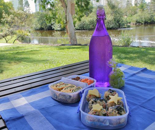 meriendas picnic para niños