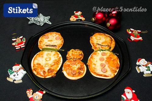 pizza navidad