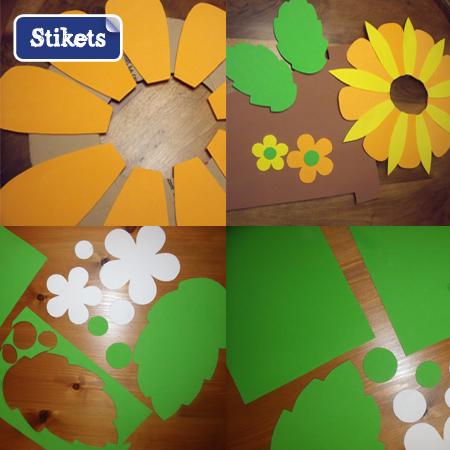 Disfraz flor casero materiales