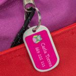 Etiquetas para mochilas Stikets