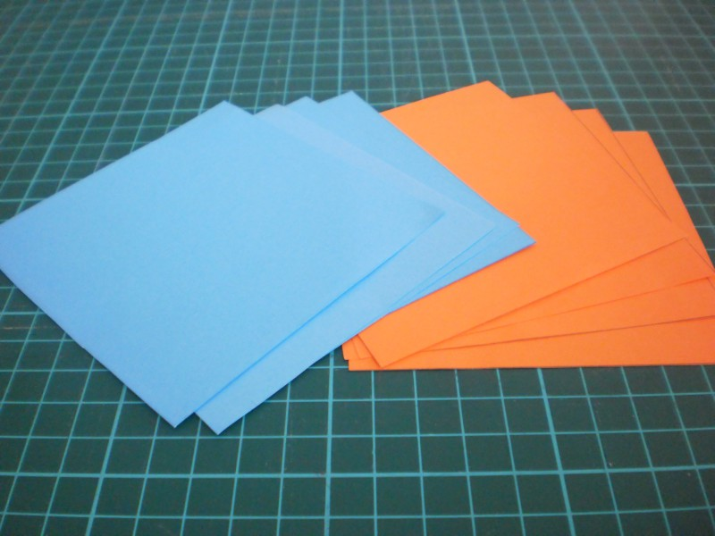 Materiales estrella de papel