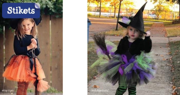 Como Hacer Un Disfraz Casero De Bruja Stikets Family - Como-hacer-un-disfraz-casero