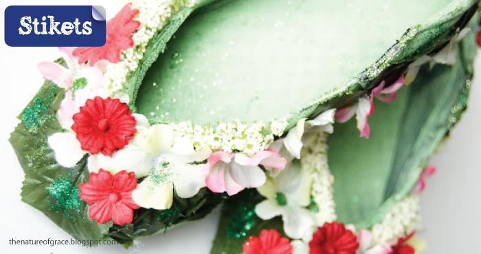 Cómo hacer un disfraz de hada. Zapatitos flores
