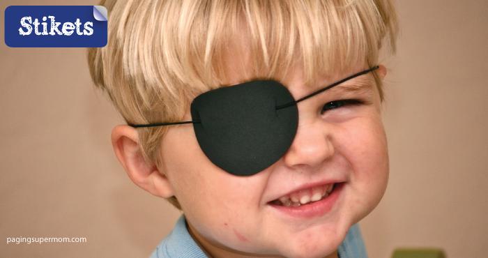 Cómo hacer un disfraz de pirata. Parche