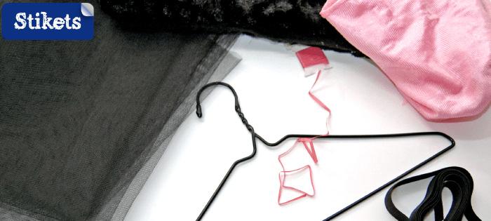 Materiales para hacer tu disfraz de gatita Stikets