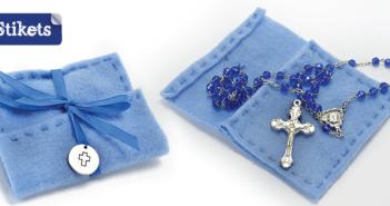 Manualidades de fieltro. Bolsita para guardar el rosario