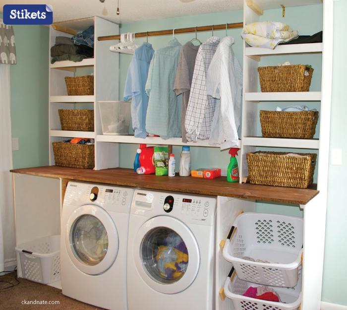 C mo organizar el lavadero aqu tienes nuestras propuestas for Ideas para lavaderos de casas