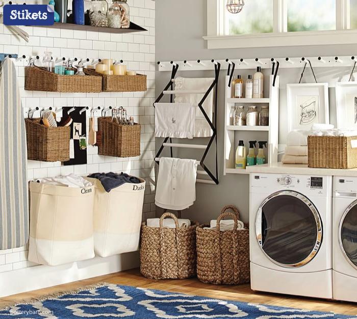 Cómo organizar el lavadero.-Colgador2