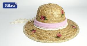 sombrero decoupage