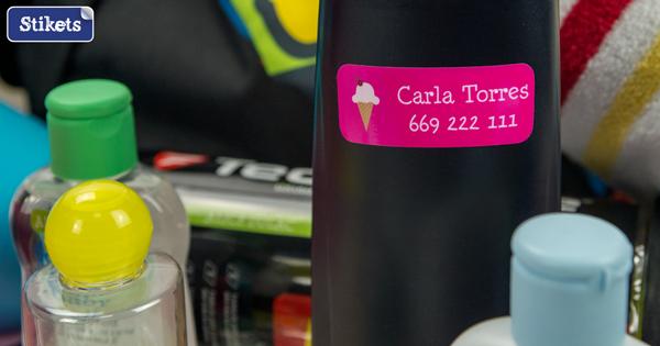 Etiquetas adhesivas Stikets para tus objetos