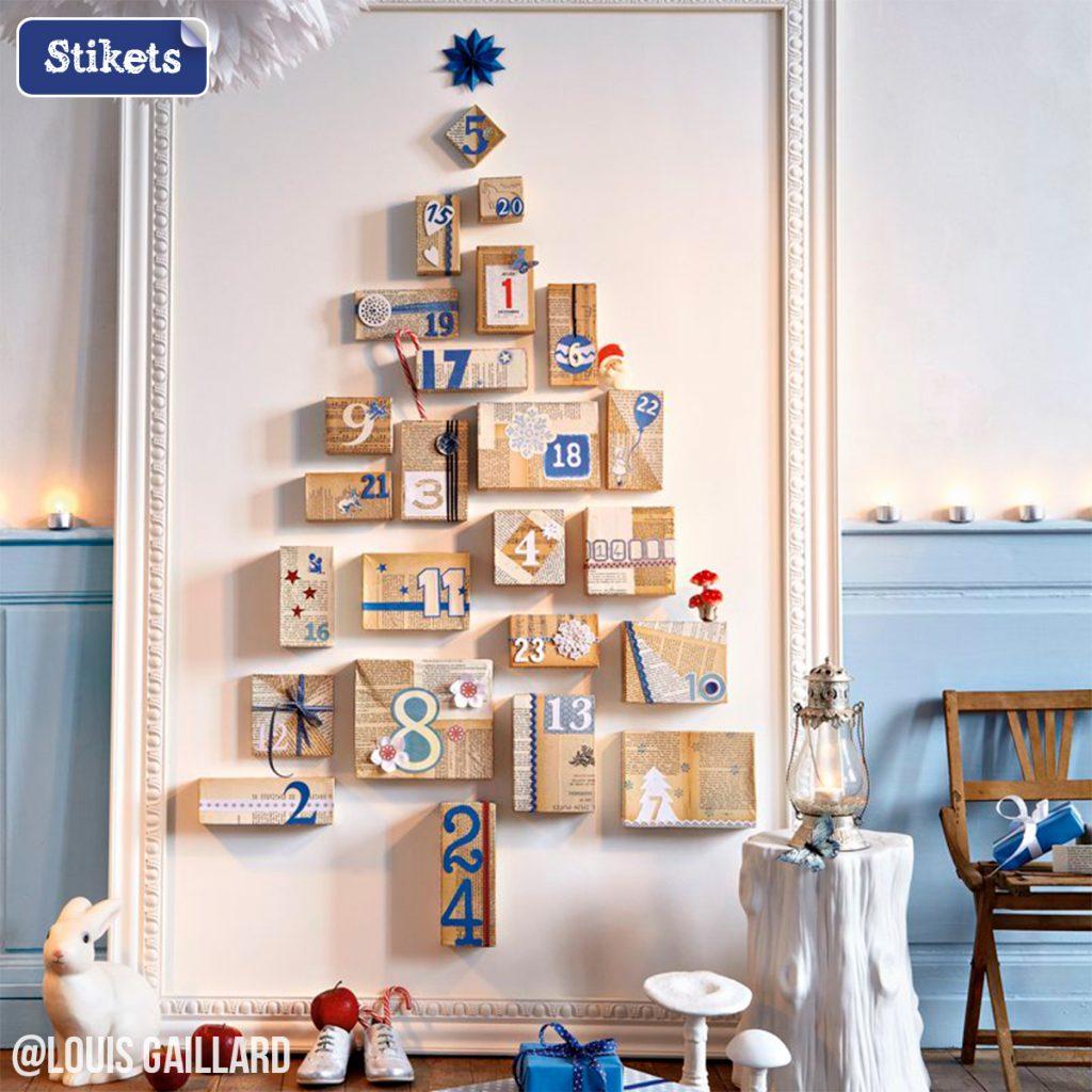 arbol de navidad calendario de adviento