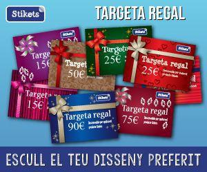 Targeta regal personalitzada