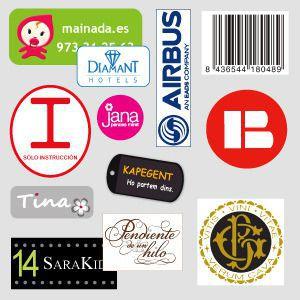 Etiquetas para ropa a medida