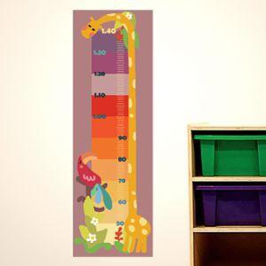 Medidor jirafa de colores