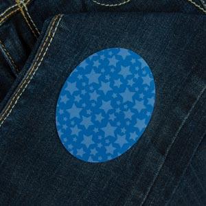Parche de estrellas para ropa