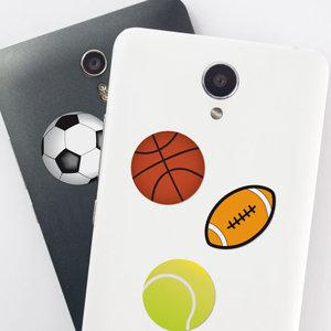 Pegatinas de pelotas para móvil