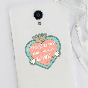 Pegatina Love para móvil