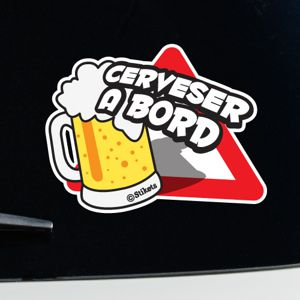 Cerveser a bord